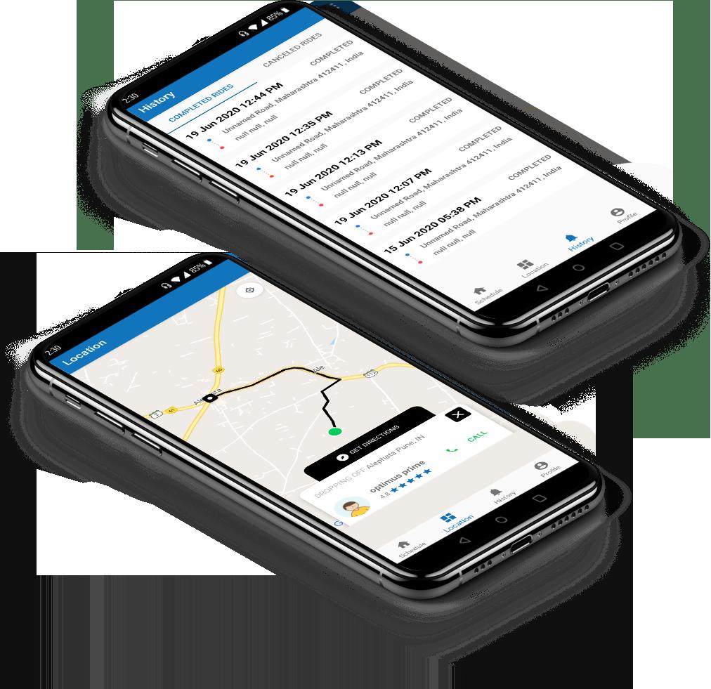 Velo Driver App
